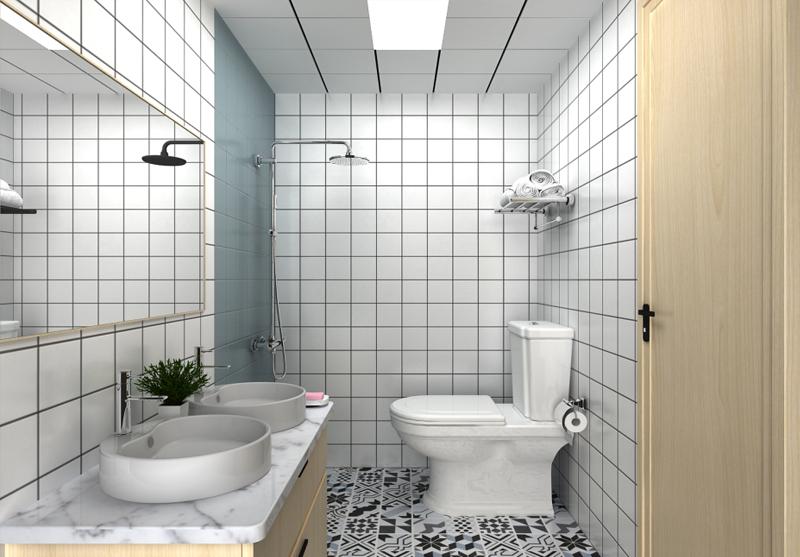 兰州艺博艺术学校宿舍卫浴