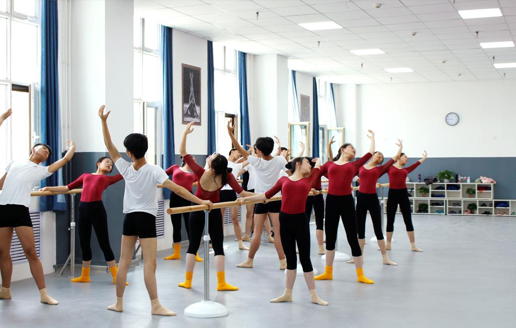 兰州艺博艺术学校舞蹈教室