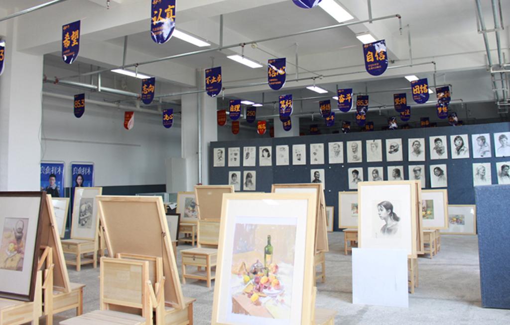 兰州艺博艺术学校美术教室