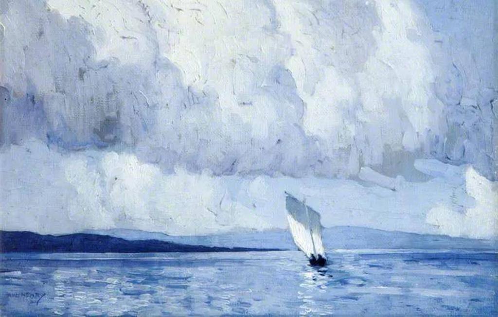 爱尔兰二十世纪有影响力的知名风景画艺术家——保罗·亨利
