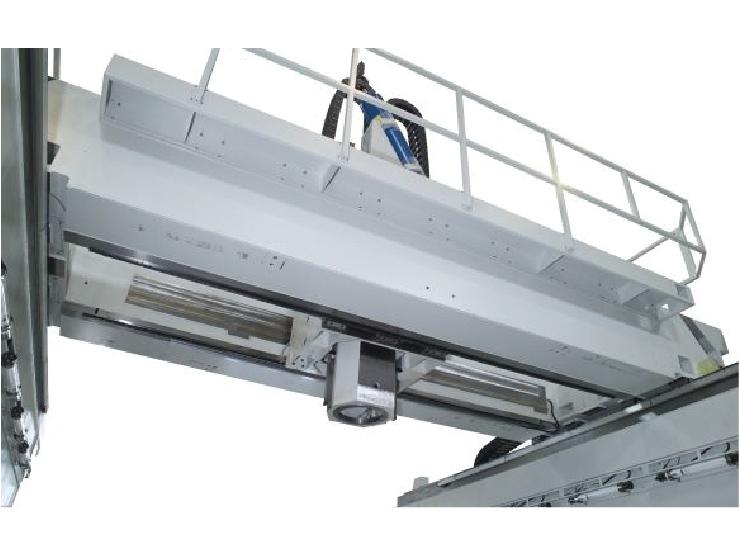 五轴跨轨式高速龙门加工中心机