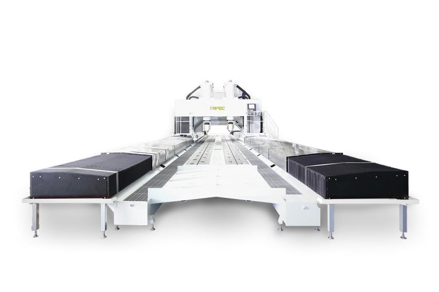 特殊形式五轴加工中心机