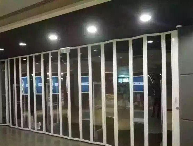 成都水晶折叠门