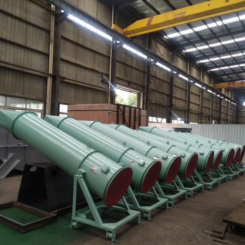 水泥厂窑筒体可移动式冷却风机