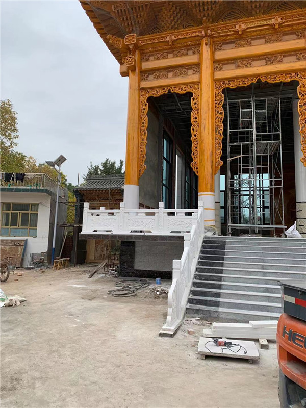 甘肃兰州清真寺栏板工程