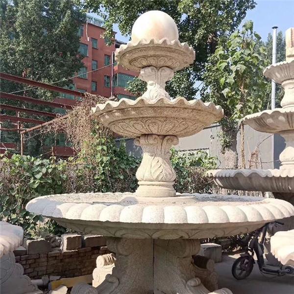 喷泉 花盆 花钵