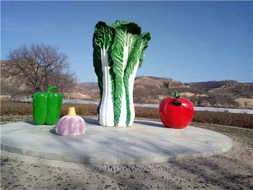 天水果蔬基地雕塑