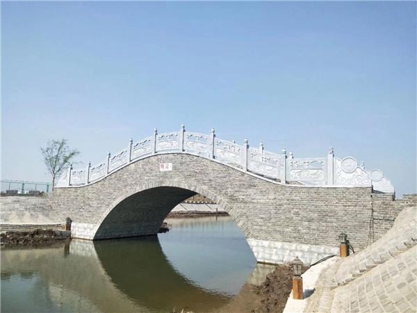 西安石栏板石栏杆石桥