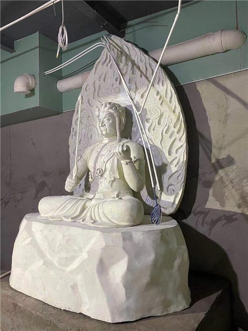 佛教密宗八大明王之首 不动明王像