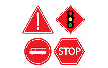 怎麽通過顏色來快速了解交通標誌牌