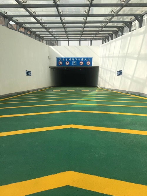 陕西道路交通设施-杨陵艾迪尔城展示