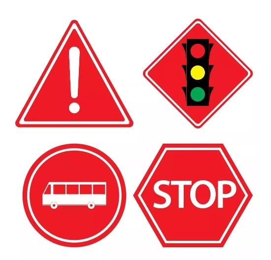 怎么通过颜色来快速了解交通标志牌的含义?