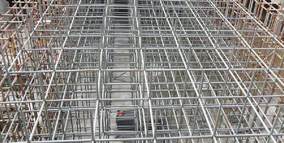 山西建工集团榆次东环四标项目盘扣使用现场