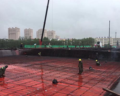 中铁六局108国道项目