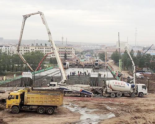 中铁六局桥第七工程有限公司迎宾桥工程