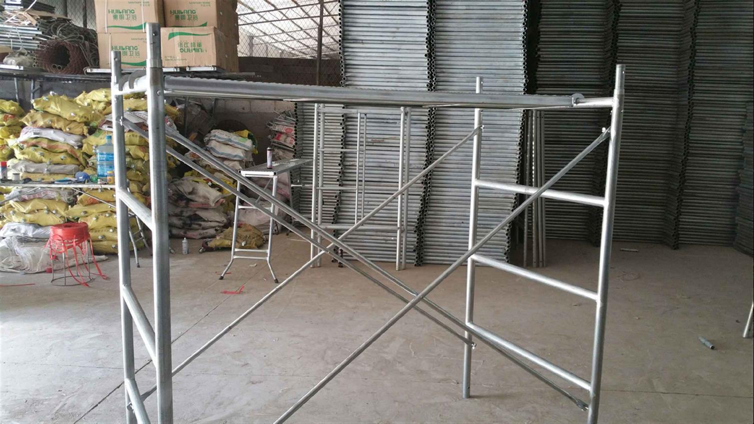 山西脚手架租赁带你分析镀锌钢管脚手架与普通类型的区别