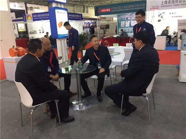 公司参加十八届北京煤炭装备展会剪影