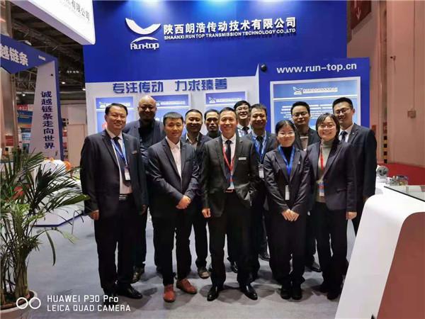 公司参加十八届北京煤炭装备展会集体合影