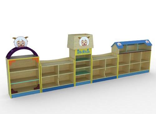 成都幼儿园家具-组合柜