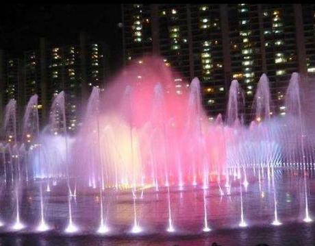 互动喷泉设计