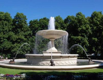 景观雕塑喷泉