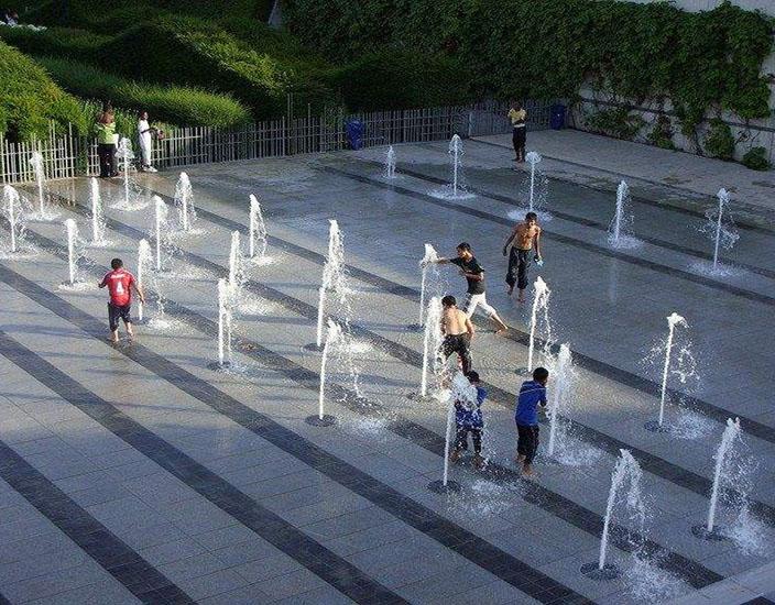 成都互动喷泉