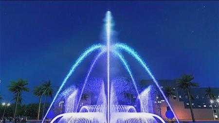 程控喷泉案例