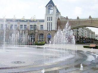 旱式喷泉案例