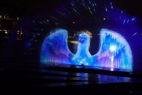 激光水幕电影设计