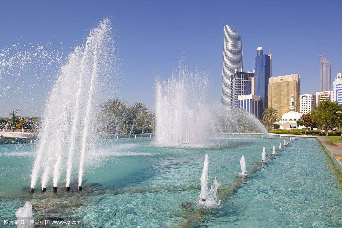 喷泉安装效果展示