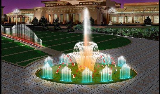四川激光水幕电影喷泉设备日常的维护