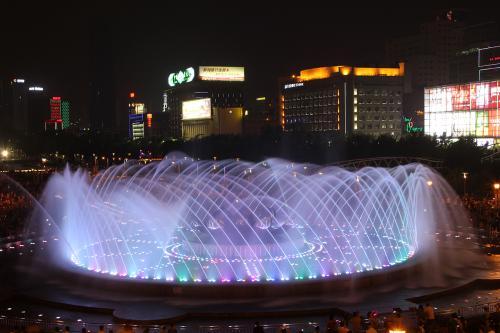 说说四川音乐喷泉施工注意事项