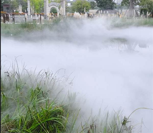 四川冷雾造景