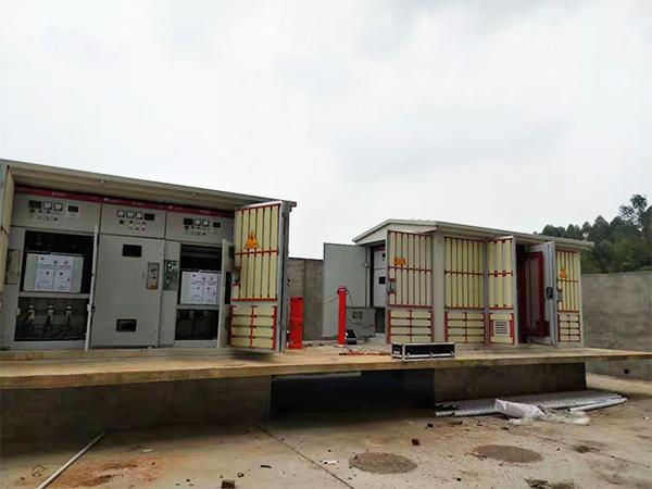 四川配电柜安装案例:视高中建大道景观工程