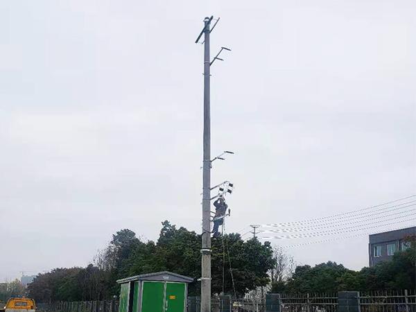 四川电力安装维修案例:成都展滔智慧科技有限公司500KVA临时用电工程
