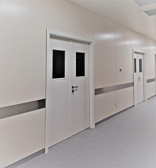延安医院钢质门