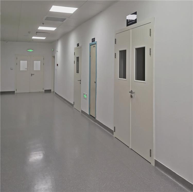 钢质门医用门用于西安市红会医院