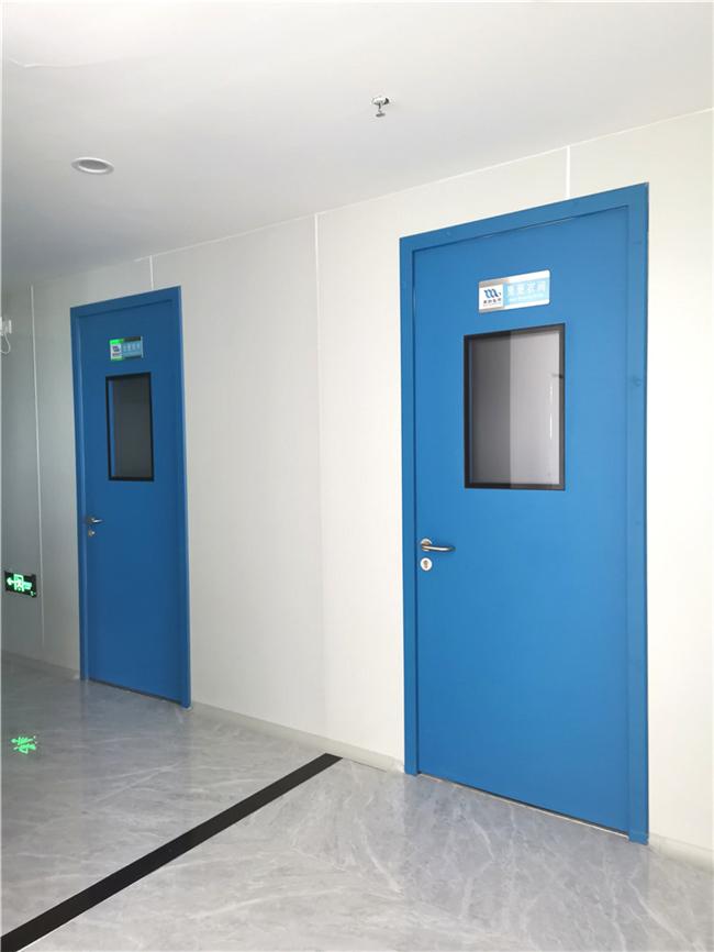 西安钢制净化门