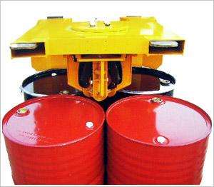 液压油桶翻转车