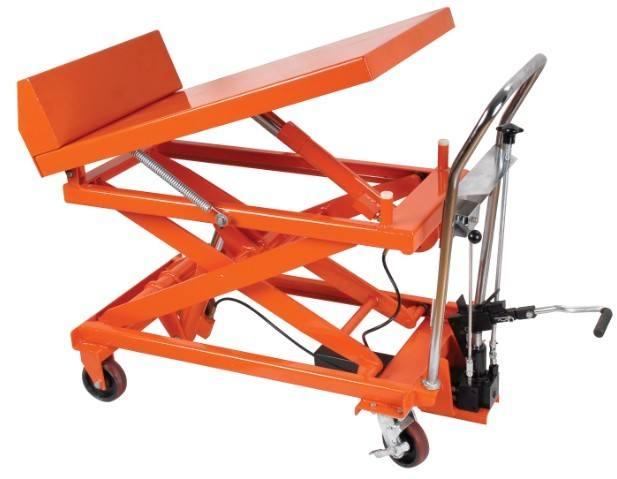 西安半电动堆高车为你讲解搬运车脚轮的选择影响搬运车的运作