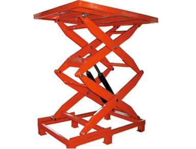 升降机厂家浅谈固定剪叉式升降平台的产品优势和工作原理
