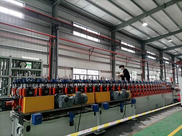 成都抗震支架厂家厂区展示