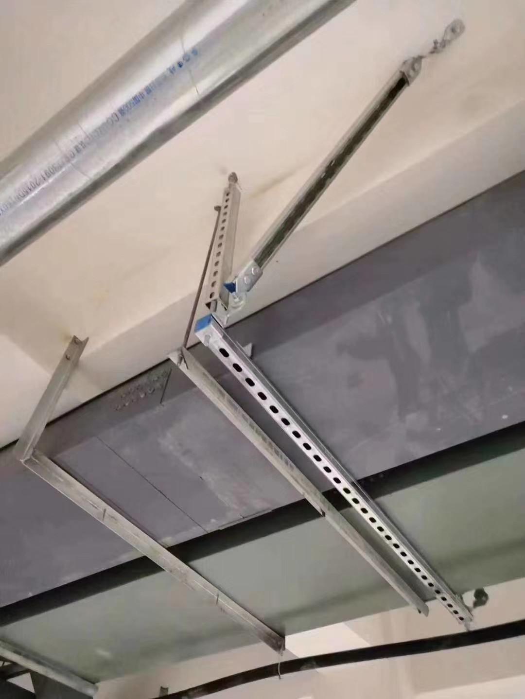 机电安装中哪些地方需要安装成都抗震支架?