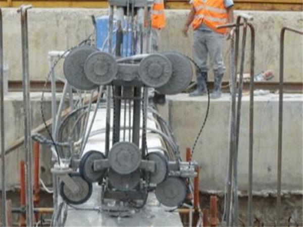 遥控电动绳锯切割机混凝土拆除现场施工准则