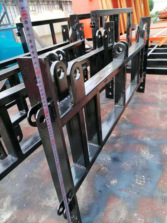 南阳液压货梯安装案例