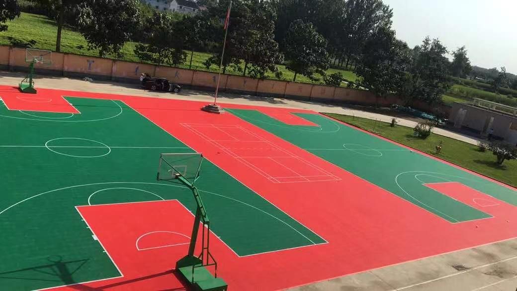 河南硅PU球场设计