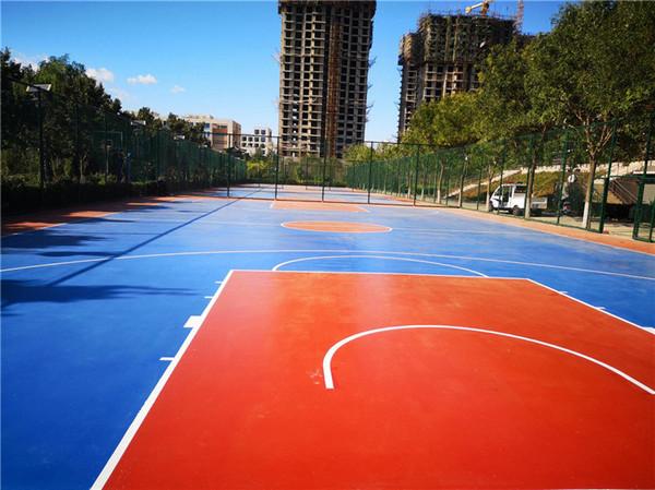 北京工业大学通州校区篮球场工程