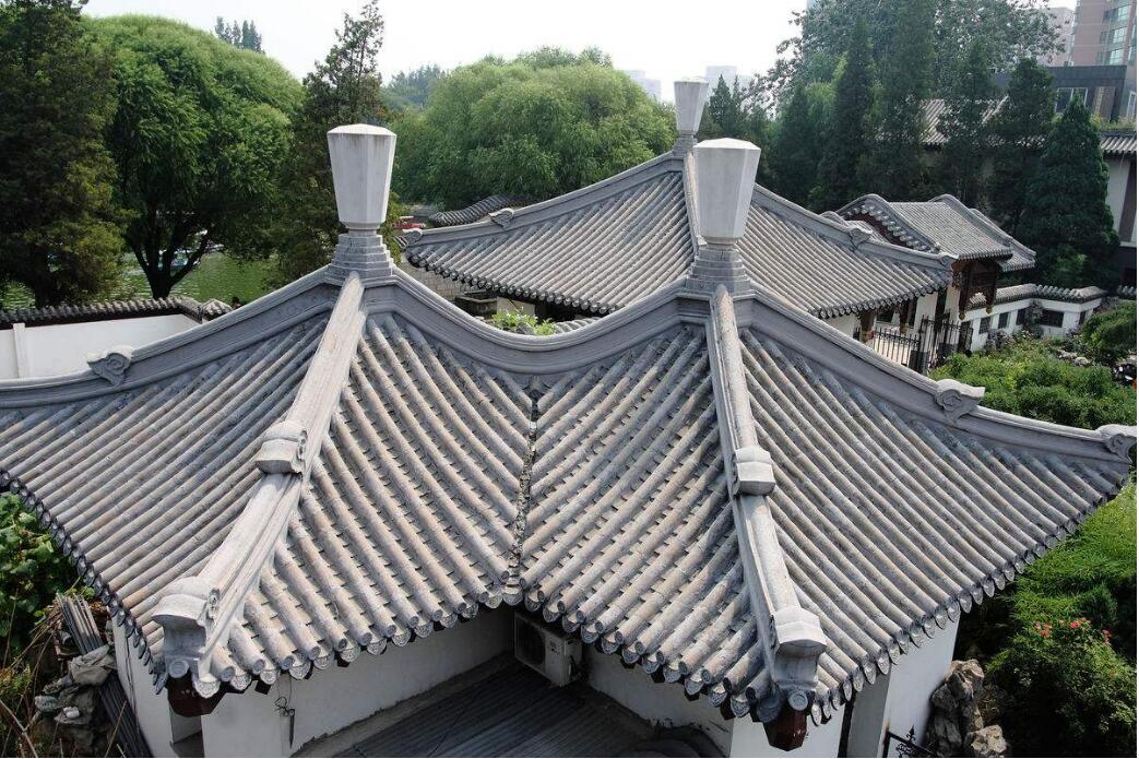 古建筑manbext万博官方登录瓦安装案例