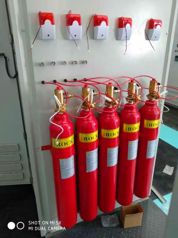 气体灭火设备安装