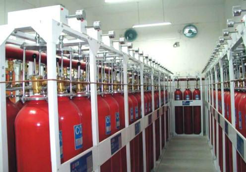 宁夏消防气体灭火